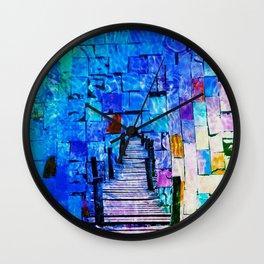 Florida Summer Wall Clock