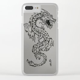 Chinese dragon Clear iPhone Case