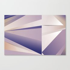Purple Glam Canvas Print