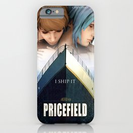 Pricefield Poster iPhone Case