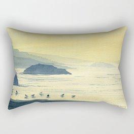 When The Sun Goes Down Rectangular Pillow