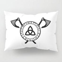 Norse Axe - Celtic Knot Pillow Sham