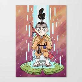 Shaolin Monk Fighter Canvas Print
