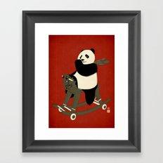 Keep Rolling Framed Art Print