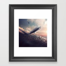 Hurry Up We're Dreaming Framed Art Print