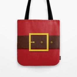 Santa's Belt - Christmas Illustration Tote Bag