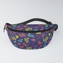 Pretty butterfly pattern - Floral Botanical herbal pattern Fanny Pack