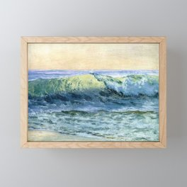 The Wave By Albert Bierstadt | Reproduction Painting Framed Mini Art Print