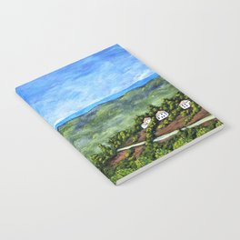 Vineyards Near Nice, France by Mike Kraus - art french france p Notebook
