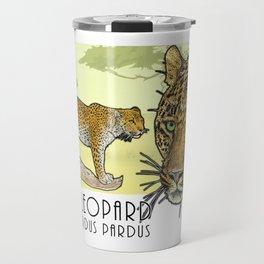 African Leopard Travel Mug