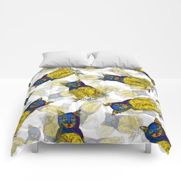 BAT CAT Pattern 1 Comforters