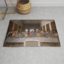 Leonardo da Vinci – Ultima cena – the last supper Rug