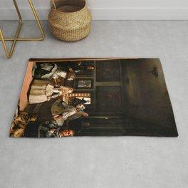 "Diego Velázquez ""Las Meninas (The Maids of Honour)"" Rug"