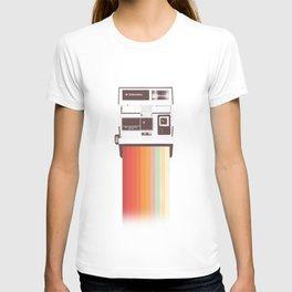 Instant Camera Rainbow T-Shirt