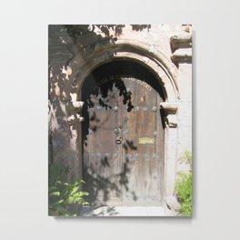 Door No. 8 in Guanajuato, Mexico (2005) Metal Print