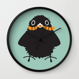 Baby Raven, Worm Wall Clock