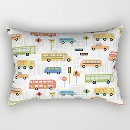 Bus Stop Rectangular Pillow