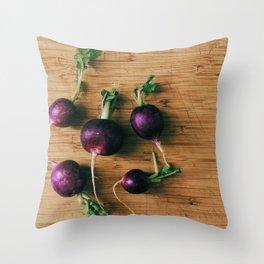 Beautiful Food by Sara Stasi Throw Pillow