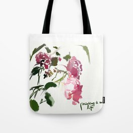 painting is my life Tote Bag