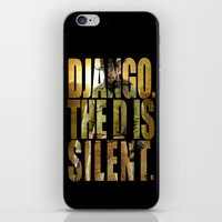 django iPhone & iPod Skins featuring Django Unchained by SB Art Productions