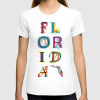 florida T-shirts featuring Florida by Fimbis