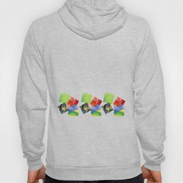 Painted Squares Jiggle Hoody