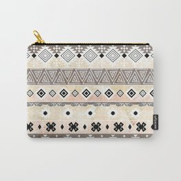 Striped Aztec pattern. Carry-All Pouch