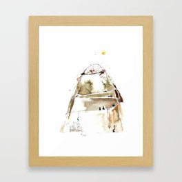 MOLEHILL Framed Art Print