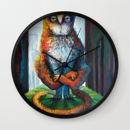 LOST in INDIA Wall Clock