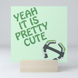 It Is Pretty Cute - VLD Pidge Mini Art Print