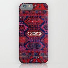Timuri Herat  Antique Afghanistan Tribal Rug Print iPhone Case