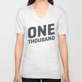 One Thousand Unisex V-Neck
