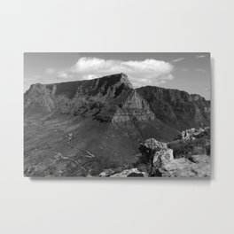 Table Mountain Cape Town South Africa Metal Print
