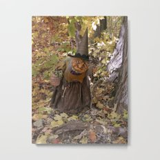 Rucus Studio Hag of the Woods Metal Print