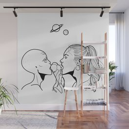 Ice cream moment Wall Mural