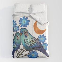 Sweet Chicory Comforters