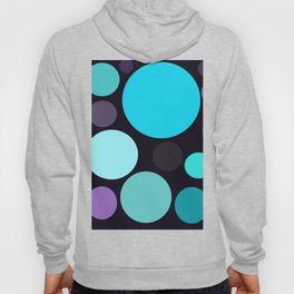 Blue and Purple Dots Hoody