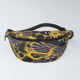 Crazy abstract Nighmare D Fanny Pack