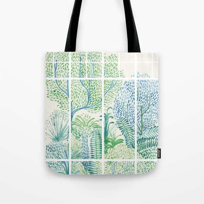 Winter in Glass Houses I Tote Bag