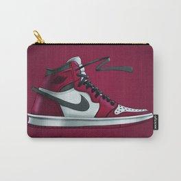 Sneaker Art Air Jordan 1 Red/ Black Carry-All Pouch