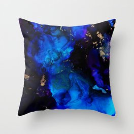 Star of the Shards Throw Pillow