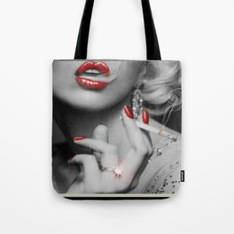 The Chick with the Cig Tote Bag