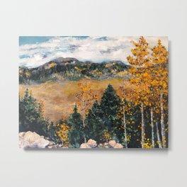 Fall in Colorado Metal Print