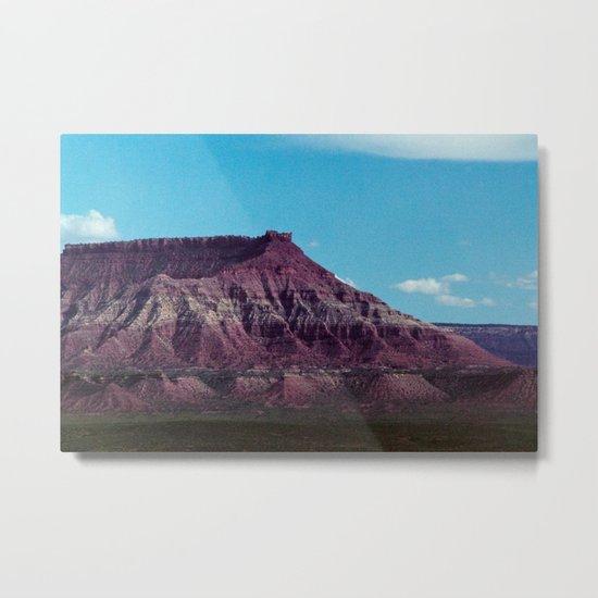 Red Mountain (La Verkin, Utah) Metal Print