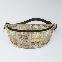 Tropical Hawaiian Deluxe Tiki Party Pattern Fanny Pack