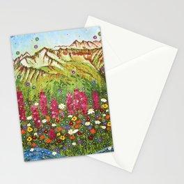 Alyeska Fireweed Stationery Cards