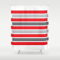 stag Shower Curtains featuring Stag by Alexander Studios