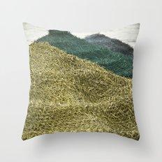 Sombrilla Throw Pillow