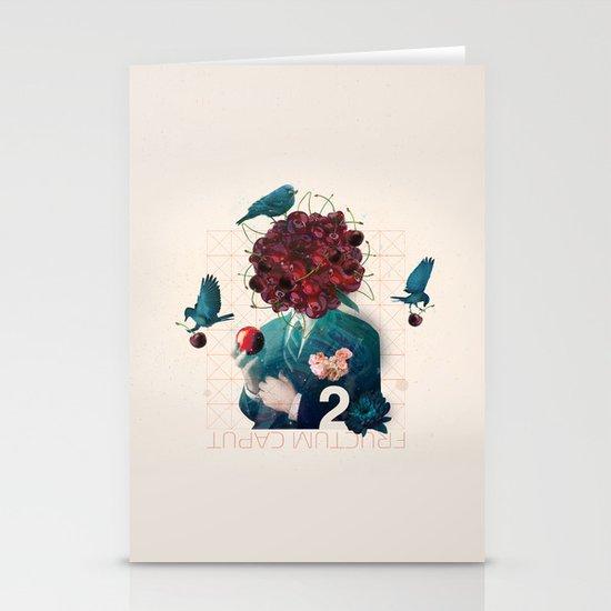fructum caput Stationery Cards