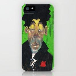 Dude in d' woodz iPhone Case